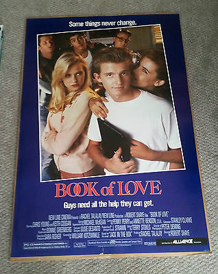 Book Of Love (1990) Original One Sheet Movie Poster 27x40 Chris Young