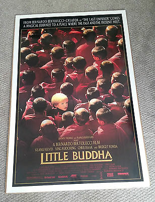 Little Buddha (1993) Original One Sheet Movie Poster 27x40 Keannu Reeves