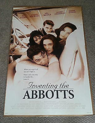 Inventing The Abbotts (1997) Original One Sheet Movie Poster 27x40 Liv Tyler