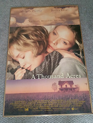 A Thousand Acres (1997) Original One Sheet Movie Poster 27x40 Michelle Pfeiffer