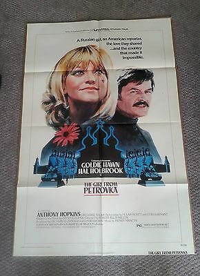 The Girl From Petrovka (1974) Original One Sheet Movie Poster 27x40