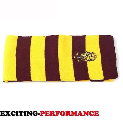Cosplay  Vouge Gryffindor House Knit Costume Scarf Wrap New