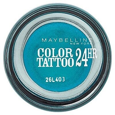 Ombre à Paupière GEMEY MAYBELLINE Color Tatoo n°20 TURQUOISE FOREVER