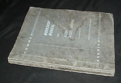 Rootes Workshop Manual Perkins 4.236 Diesel Engine - Other 4.236 uses will apply