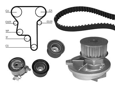 Water Pump And Timing Cam Belt Kit Replacement Part For Vauxhall Zafira 2.0