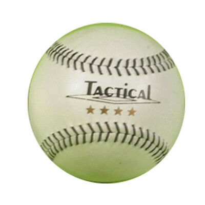 Tactical Baseball 4 Star Deluxe Ball Calf Leather Practice Rounder Softball
