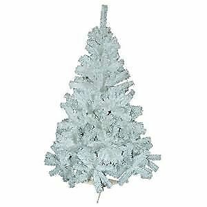 New 6Ft 180Cm Snow White Pine Artificial Christmas Xmas Tree 400 Tips