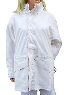 CATHEDRAL Duraproof Fleece Lined Jacket Ladies 100% Waterproof White Bowls