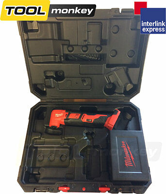 Milwaukee M18BMT M18 Multi Tool 18v FIXTEC tool free blade change in Hard Case