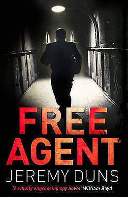 Free Agent by Jeremy Duns (Paperback) New Book