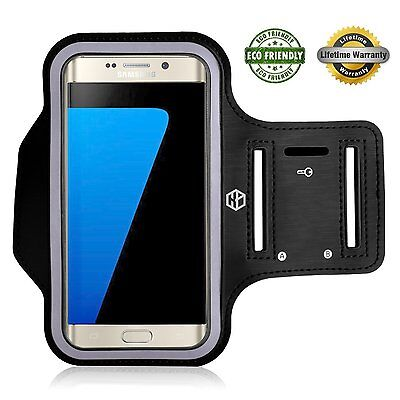 Gym Running Jogging Arm Band Sports Armband Holder Strap Samsung Galaxy S7 Edge