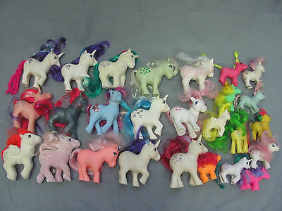 My Little Pony Lot G1 Dream Castle Tons of Accessories & Ponies MLP 1980's