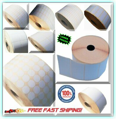 White Stickers Self Adhesive Sticky Postage Address Inkjet Laser Copier Printer