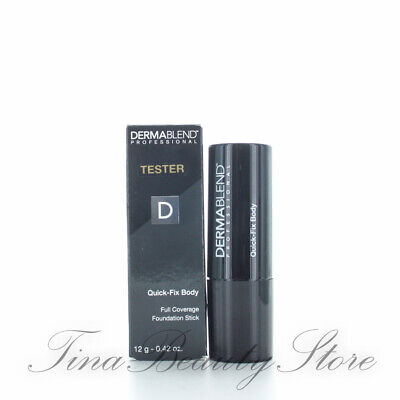 Dermablend Quick Fix Body Bronze 0.42oz/12g TESTER IN BOX
