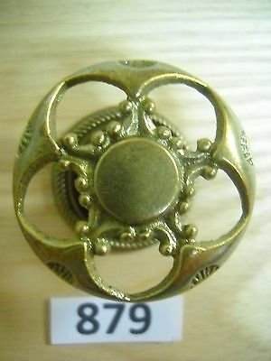Antique Brass Knob Drawer Pull