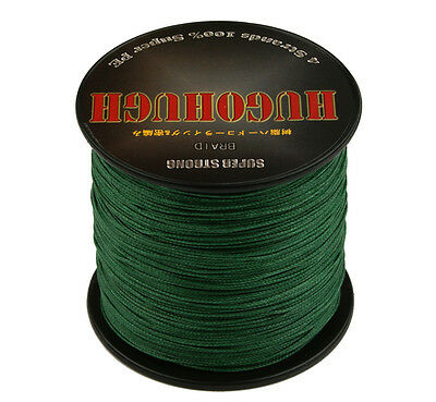 Good Army Green PE Dyneema Spectra Extreme Braid Fishing Line 100-1000M 6-100LB