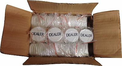 Dealer Buttons Case of 288 for POKER HOLD'EM Casino Las Vegas Tournament NEW *