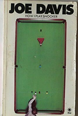 How I Play Snooker by Davis, Joe Paperback Book The Cheap Fast Free Post