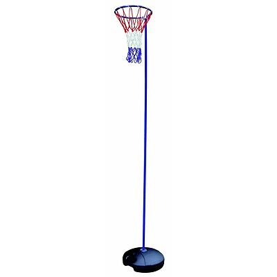 Woodworm 3.05m Adjustable Height Netball Post Pole and Net Set