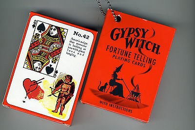 US Games GW10 Gypsy Witch Tarot Playing Cards Fortune Telling Game Deck