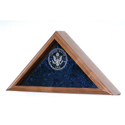 US Navy Flag Display Case Hand Made By Veterans
