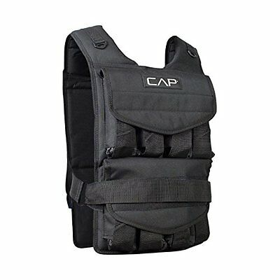 CAP Barbell Adjustable Weighted Vest, 100 lb
