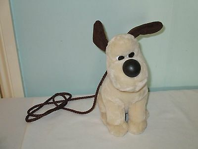 Gromit the Dog From Wallace and Gromit Soft Plush Toy shoulder bag / Purse
