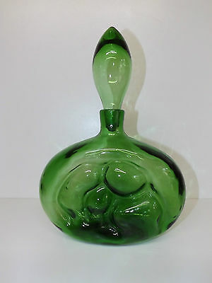 Blenko Art Glass Decanter Designed By Wayne Husted No 6310