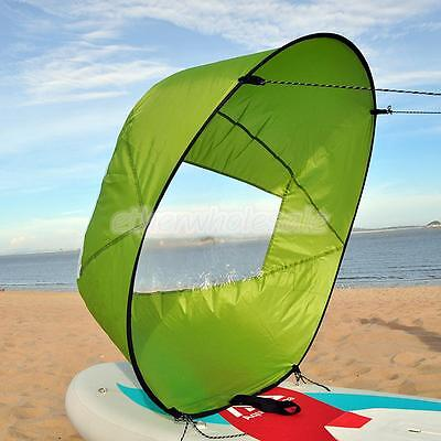 """42 """"GREEN Kayak Voile Downwind Vent Paddle Board Popup Vent Voile"""