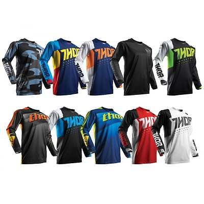 Thor Adults Mens 2017 Pulse MX Motocross Enduro Offroad Quad  Jersey