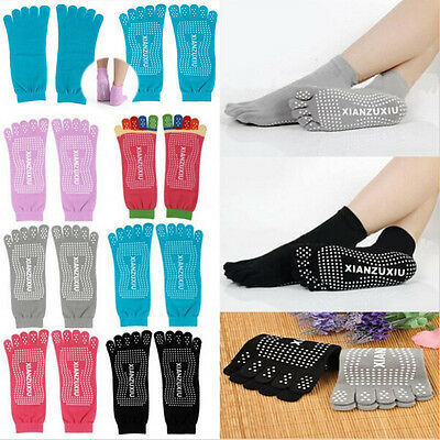 5 Toes Cotton Socks Exercise /Sports/ Pilates/Yoga Massage Socks