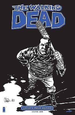 Image Giant Sized Artists Proof Ed The Walking Dead #100  Rel Date 10/12/2016