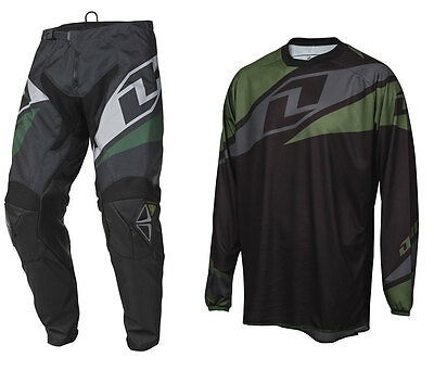 2016 ONE INDUSTRIES ATOM MOTOCROSS MX KIT BLACK enduro bike pants jersey