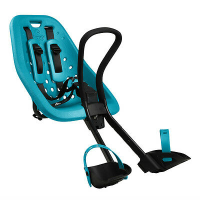 Yepp Mini Bicycle Front Child Seat Ocean Blue Standard Threadless