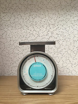 Pelouze Y80R English Dial Ice-Cream Overrun Portioning Scale