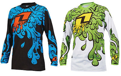 ONE INDUSTRIES YOUTH ATOM SLIME MOTOCROSS MX BIKE JERSEY shirt quad bmx mtb