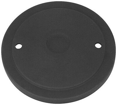S&S Cycle Billet Air Cleaner Cover Muscle - Black 170-0125