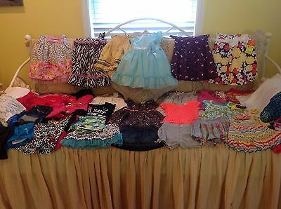 Huge Lot Baby Girl Summer Clothes 12,18,24 ,2t  Months