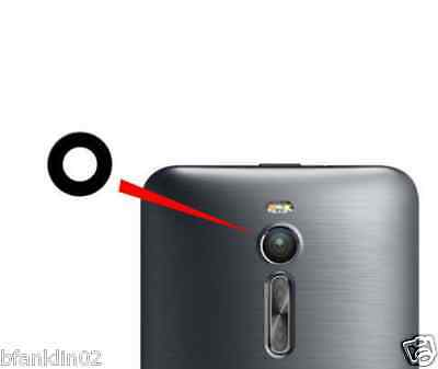 Asus Zenfone 2 5 6 Rear Back Camera Glass Lens + Adhesive