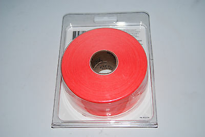 Office Depot OD202 RED labels, 2-rolls, Same as for Monarch 1136, label# 925085