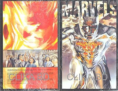 Marvels.200 Pg Par Alex Ross/k. Busiek.col.privlège-Semic 1994-C/nn Sous Cello -