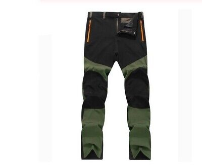 Camping Pants Mens Trousers Survival Trekking Hiking Army Travel Fishing Light