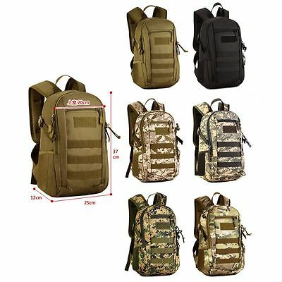 12L Molle Tactical Assault Military Rucksack Backpack Hilking Shoulder Bag Pack