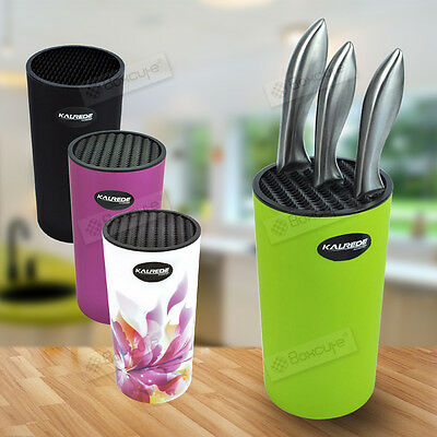 NEW HOT Kitchen Tool Knife Block Set Slot Storage Holder Rack Organiser uk