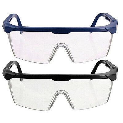 2PCS Vented Safety Goggles Glasses Eye Protection Protective Lab Anti Fog Clear