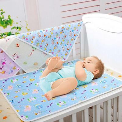 Baby Infant Diaper Nappy Urine Mat Waterproof Bedding Changing Cover Pad B