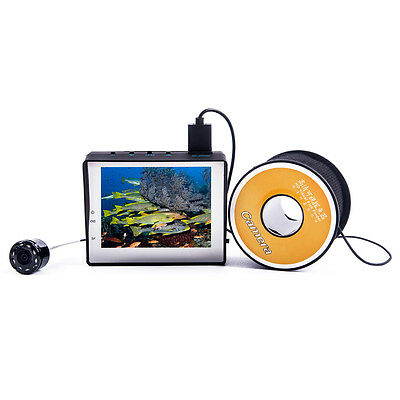 30m Professional Fish Finder Underwater Fishing Video Camera LCD Monitor 3.4inch
