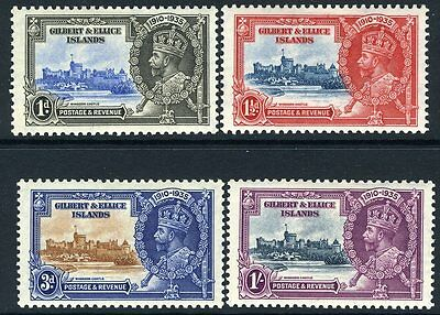 GILBERT & ELLICE ISLANDS-1935 Silver Jubilee Set  Sg 36-39 MOUNTED MINT V11606