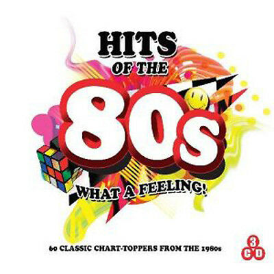 Various Artists Hits of the 80s - What A Feeling CD ***NEW***