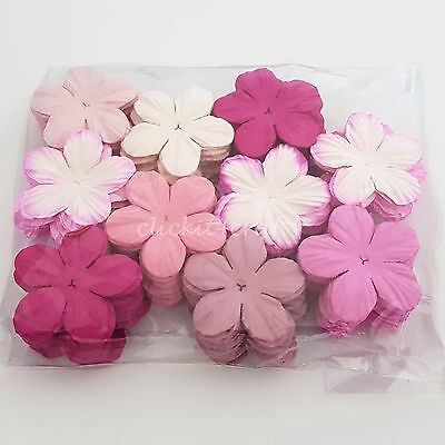 500 Pink Paper Flower Petals Scrapbook Cardmaking Birthday Party Craft P20-00